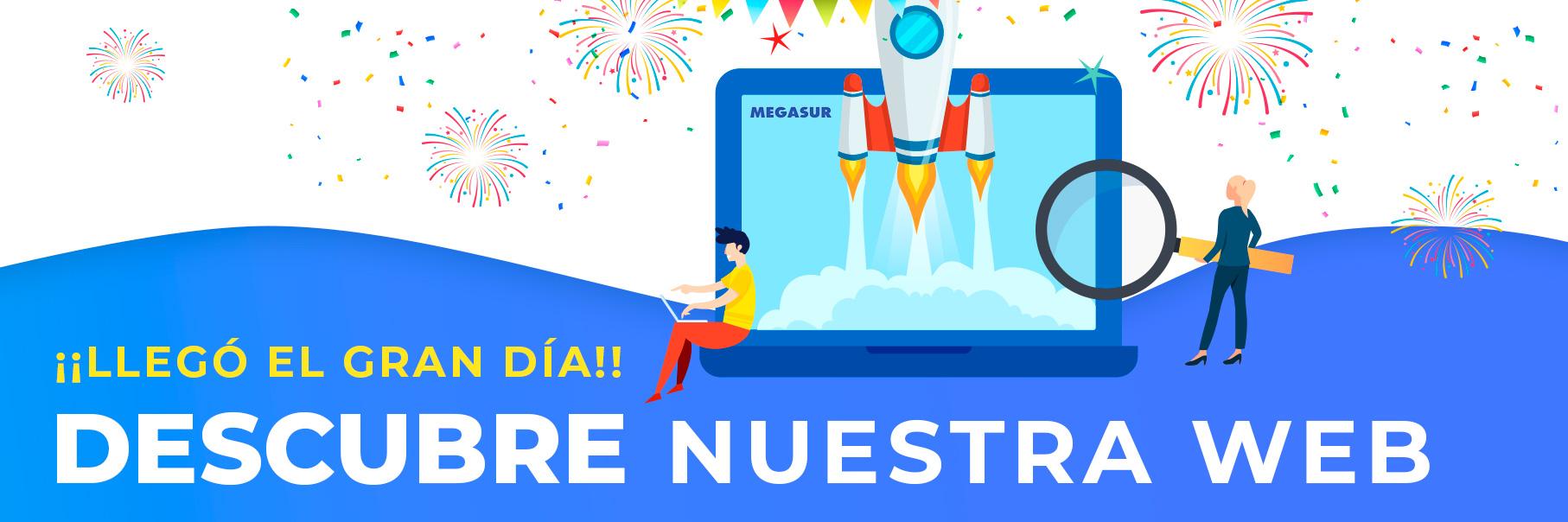 nueva web de megasur