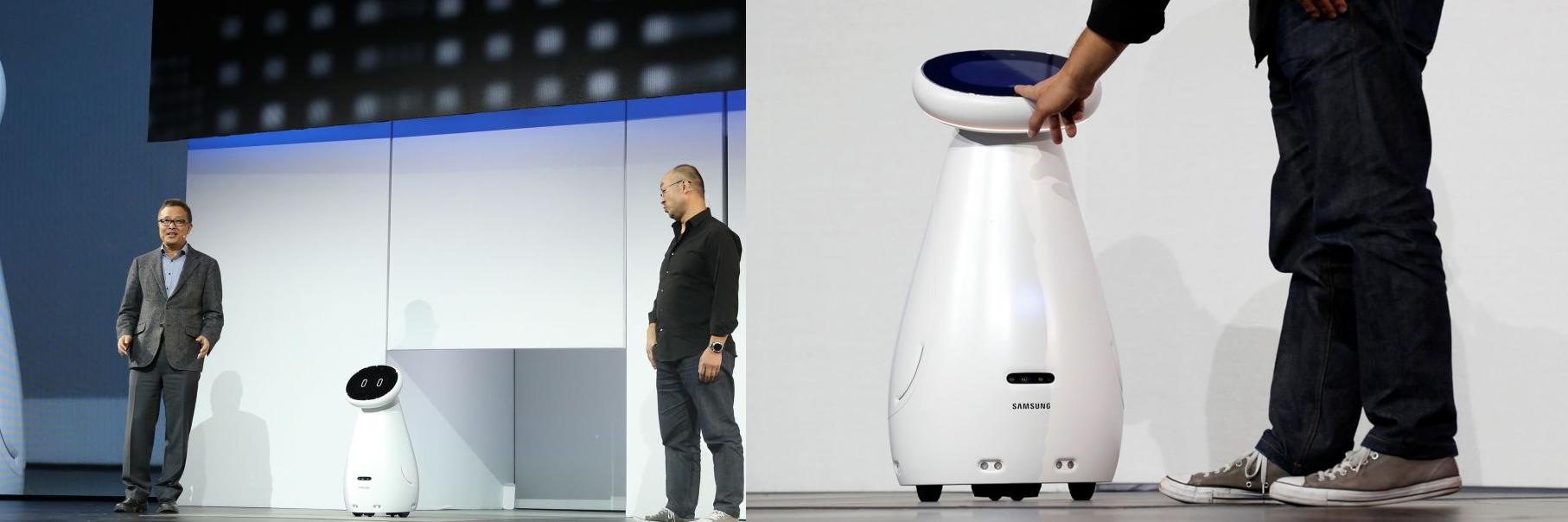 robot samsung